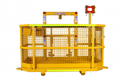 Underground Man Baskets | Fan Service & ANFO Work Platforms